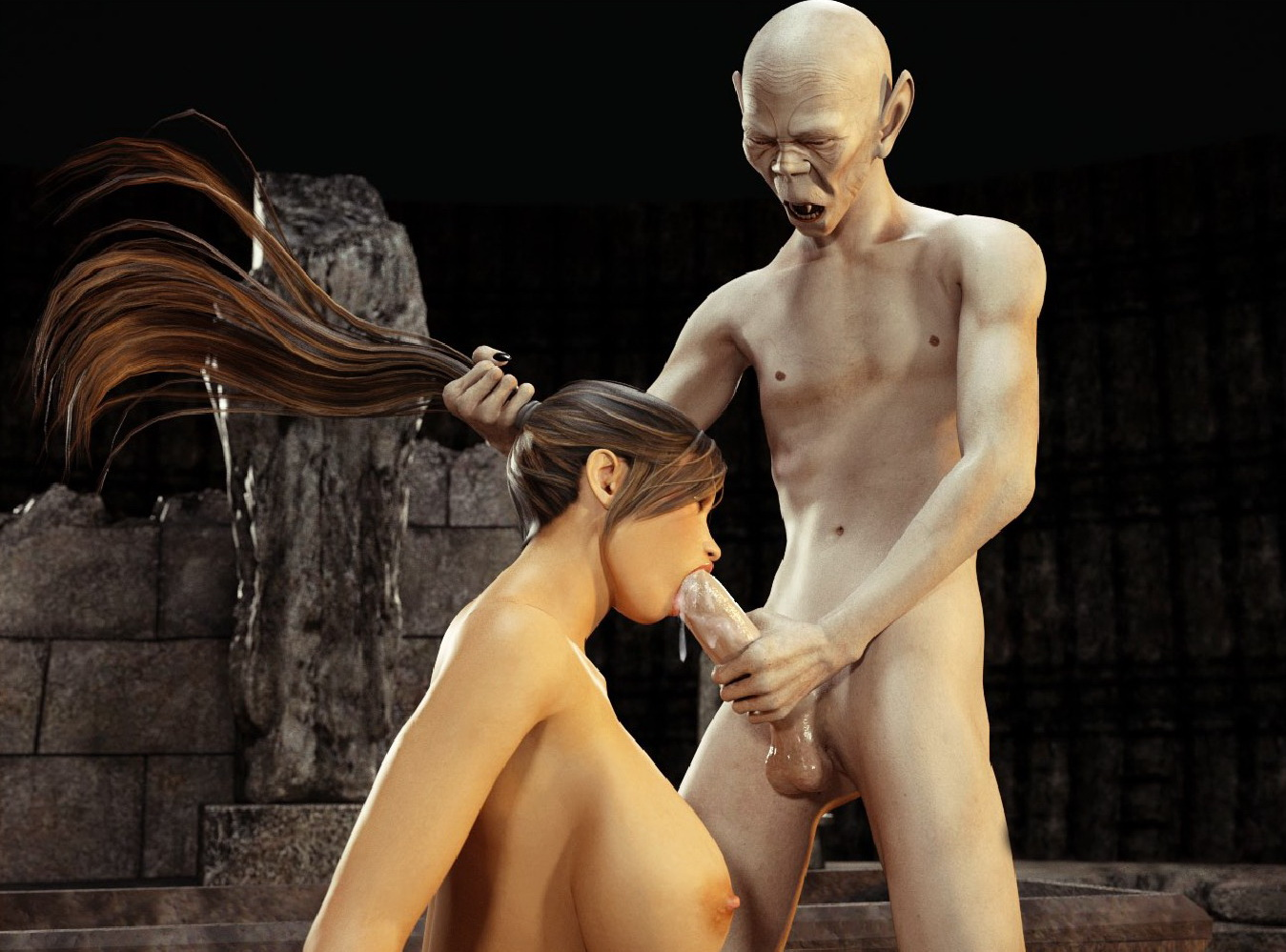 Kinky goblin with hot boobs pic hardcore videos