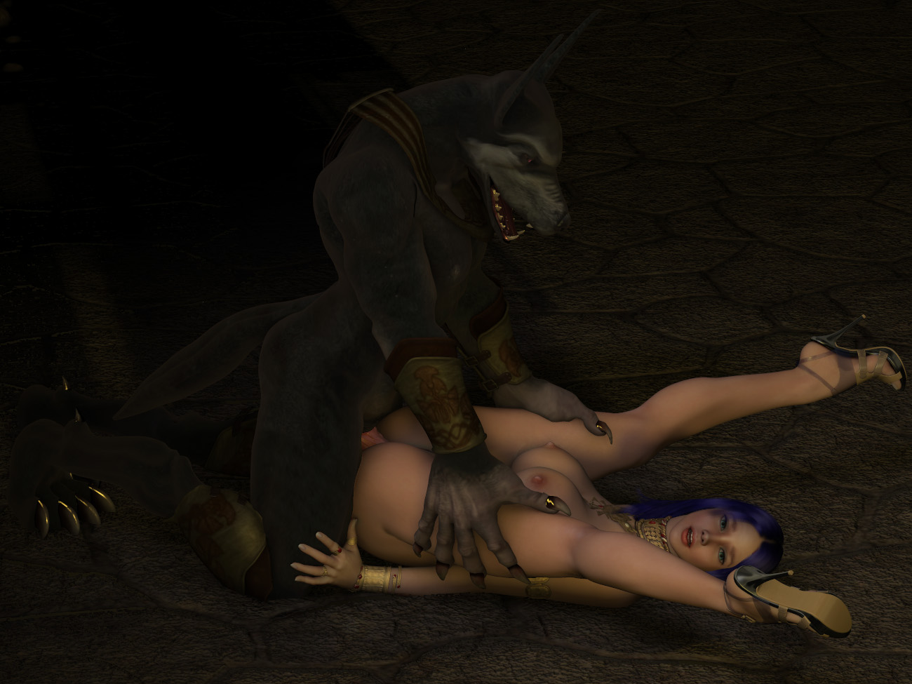 Werewolves xxx porn game hentai comics