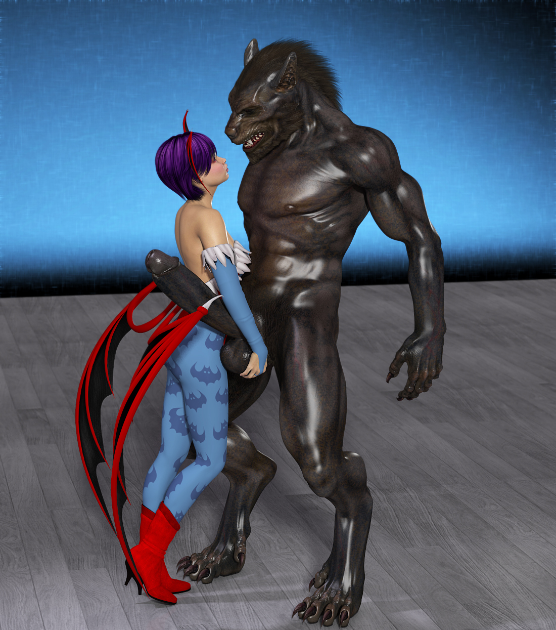 Man to werewolf naked sex photo