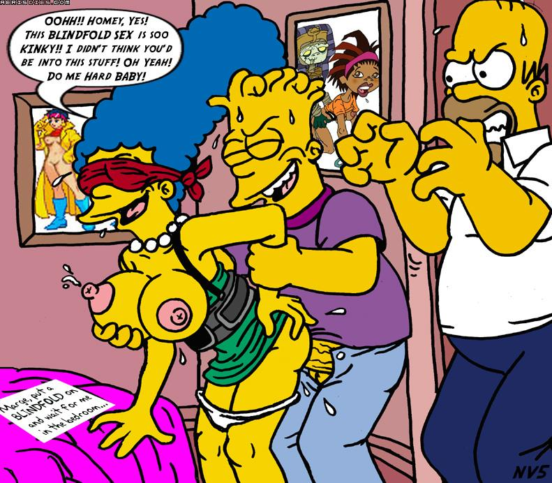 Confirm. Marge simpsons and bart kinky sex