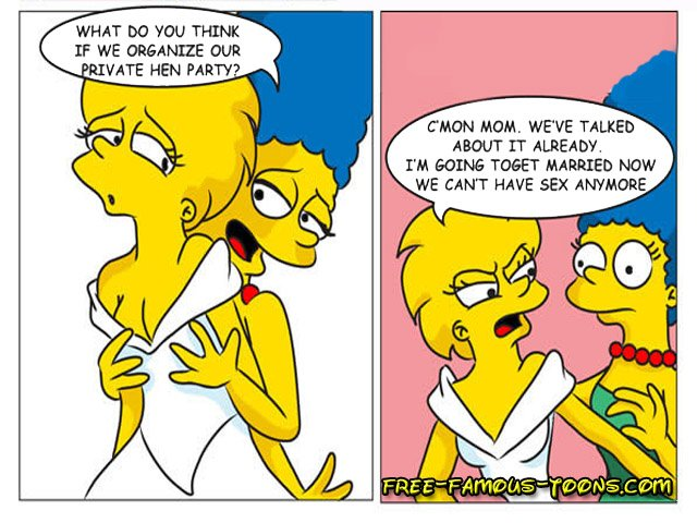 Are not Los simpson porno lesbian amusing idea