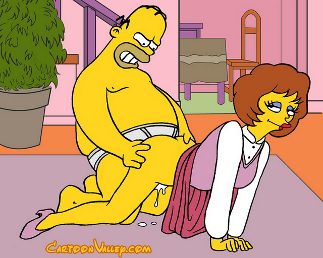 simpsons family porn comics porn porn simpsons comics toons sluts springfield