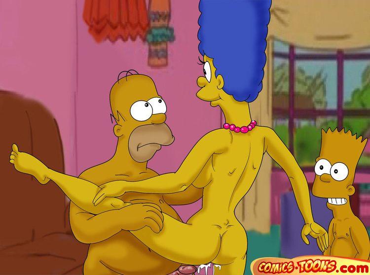 Секс фото про симпсоны 2004