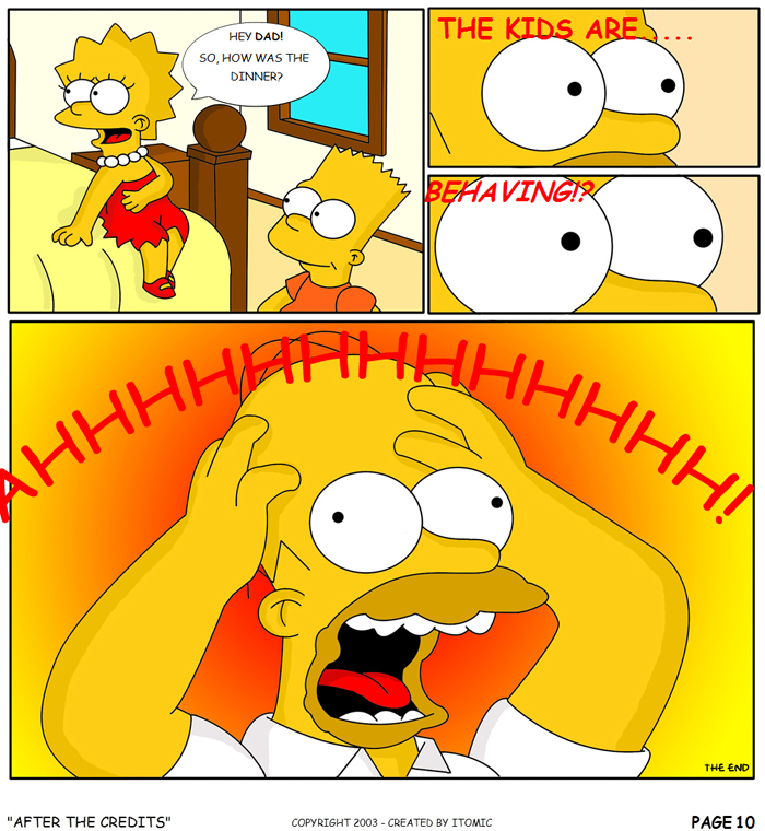 Simpsons Porn Ic Simpson Lisa Bart Itomic