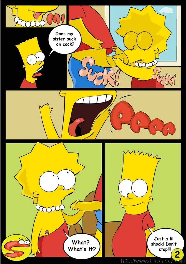 simpsons porn comic porn simpsons media comics lisa bart cool