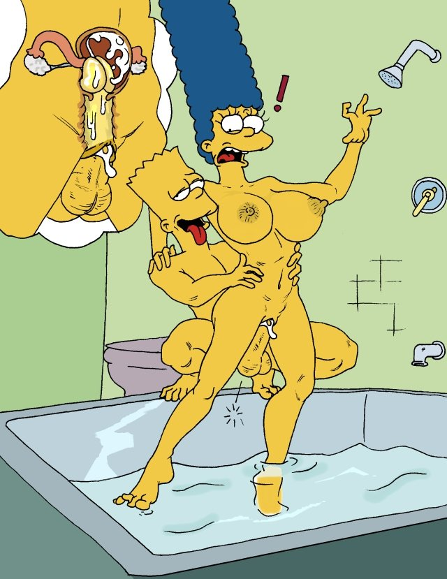 simpsons porn comic porn simpsons cartoon marge simpson bart having heroes afe