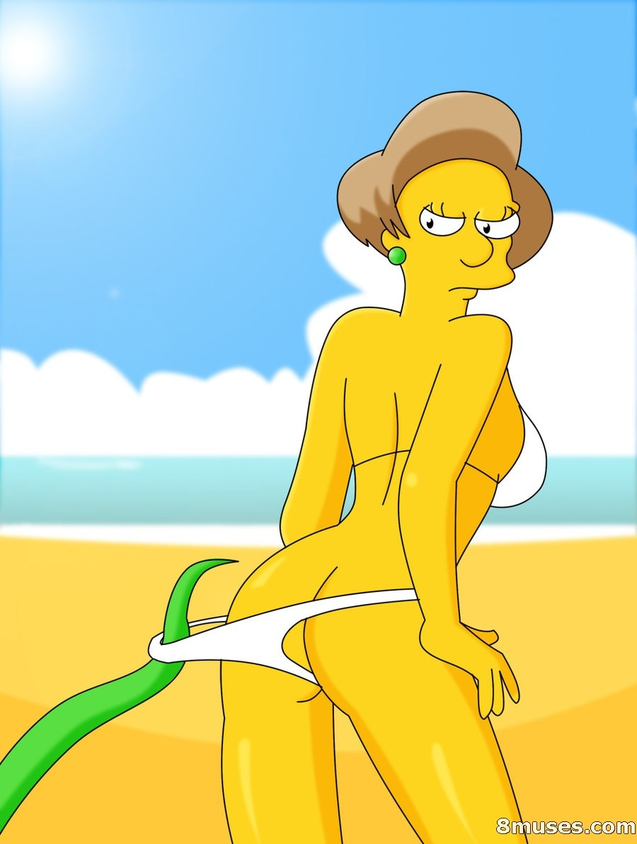Симпсоны мисис крабапл порно 5 фотография