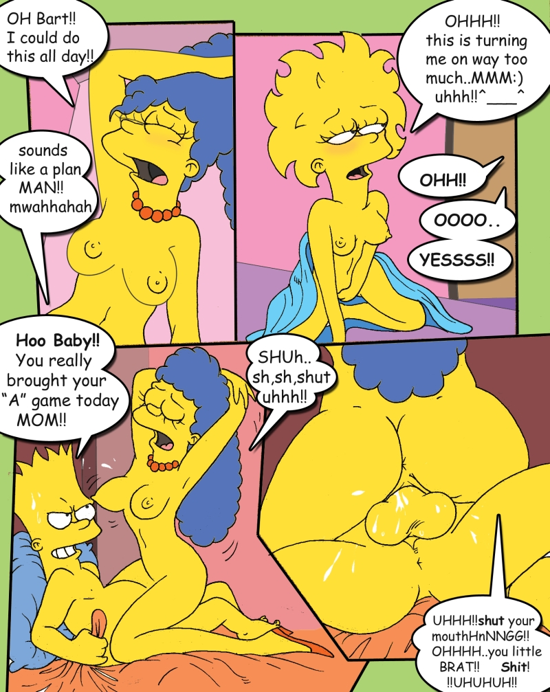 Are videos of the simpsons having sex