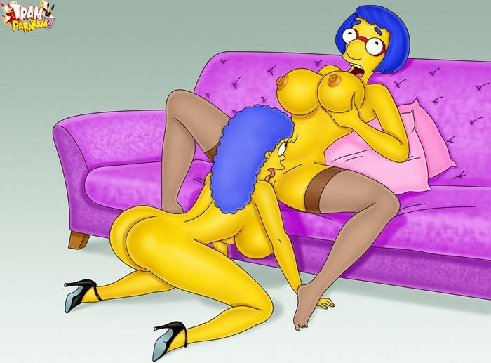 Los simpson girls porn