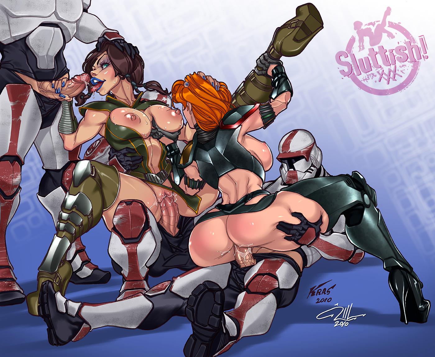 Star wars sex porn cartoon video