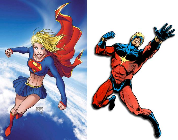 And superwoman naked superman