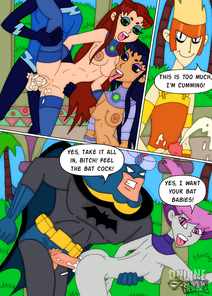 Teen Titans Porn Comic image #115612
