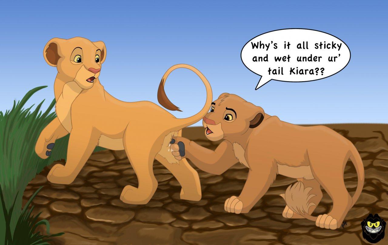 Порно игра король лев