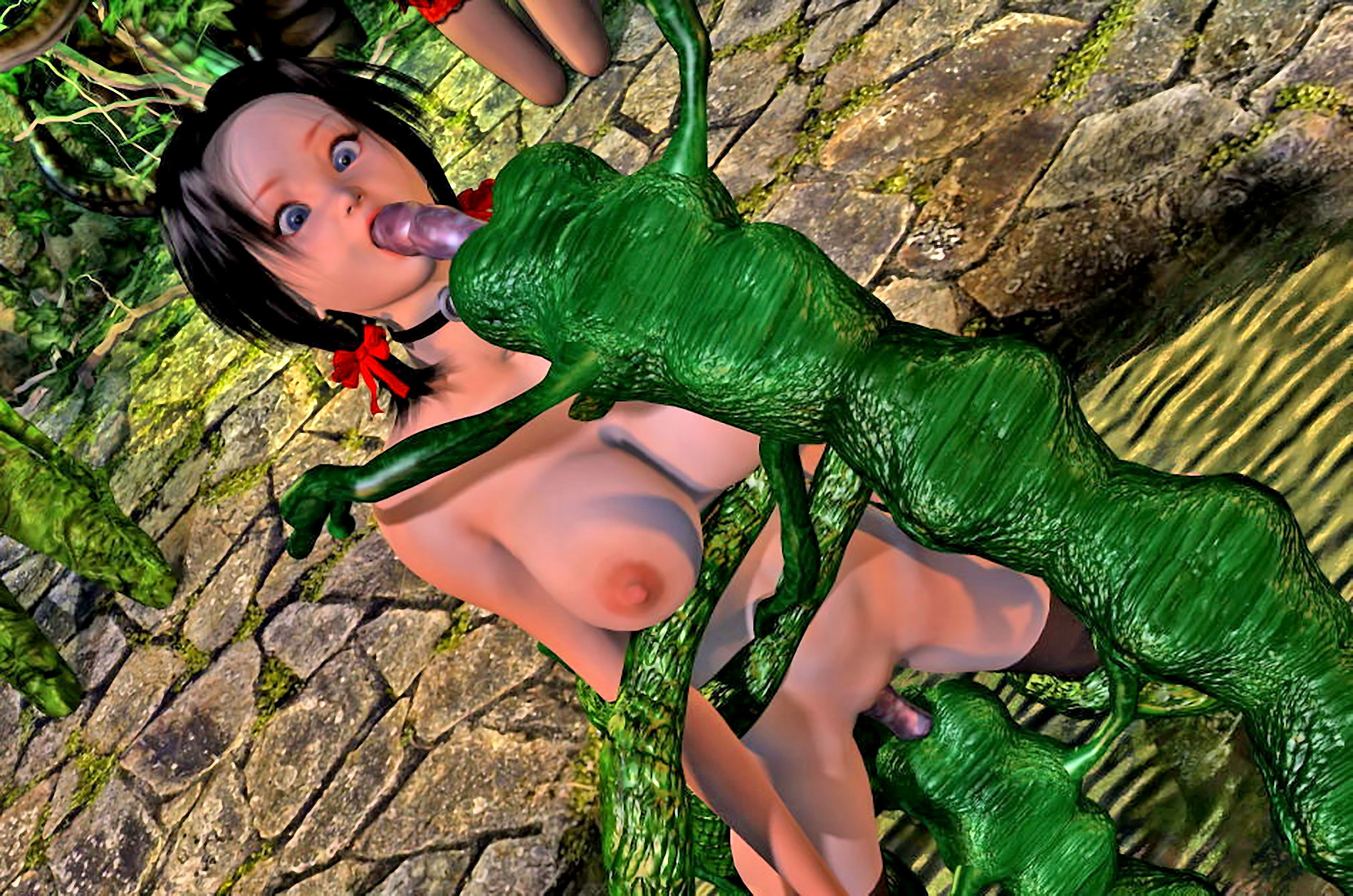 Tomb raider hentai pic tentacle exposed photo