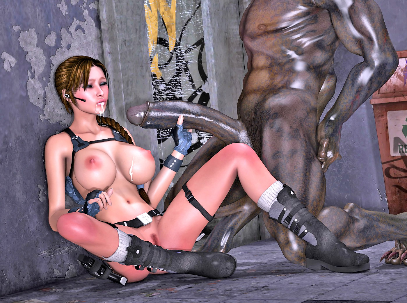 Sexy tomb raider big boobs sex nude tube