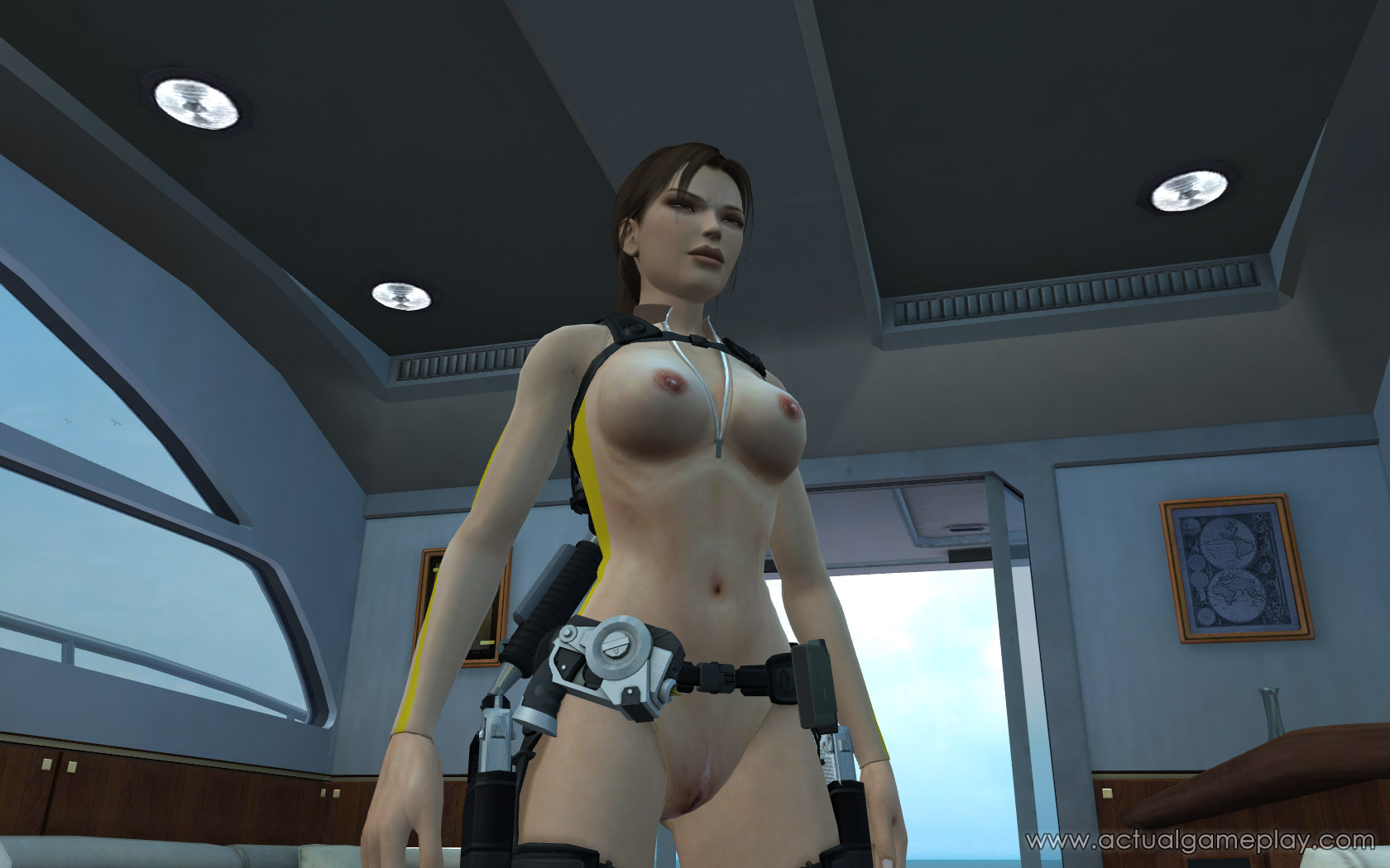 Tomb raider game character nude hentai movie