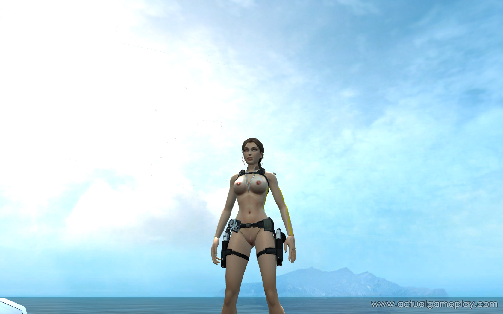 Tomb raider - underworld nude exploited image