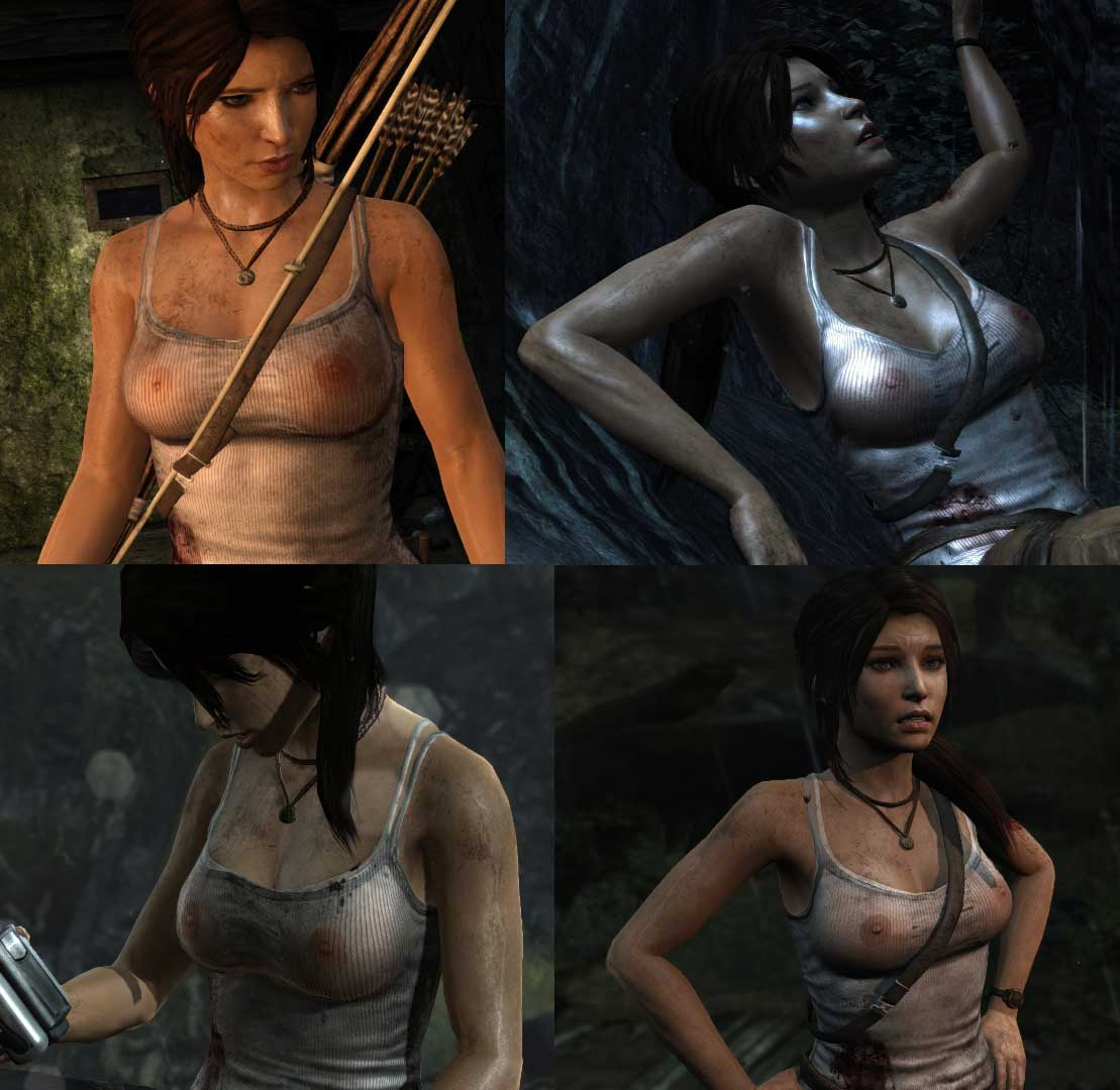 Tomb raider 2013 topless cheat nackt image