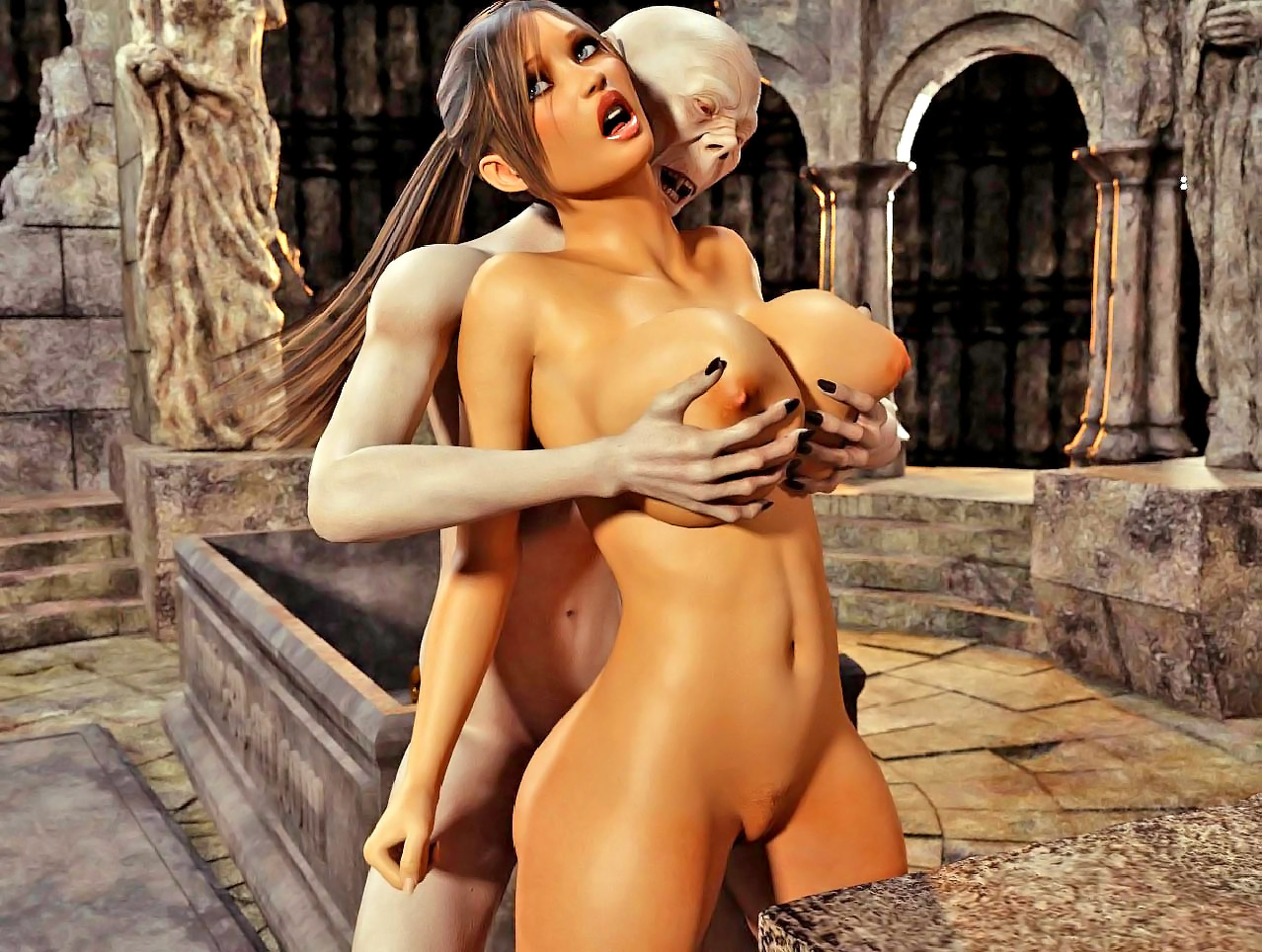 3d naked monster vampire raider porn gallery