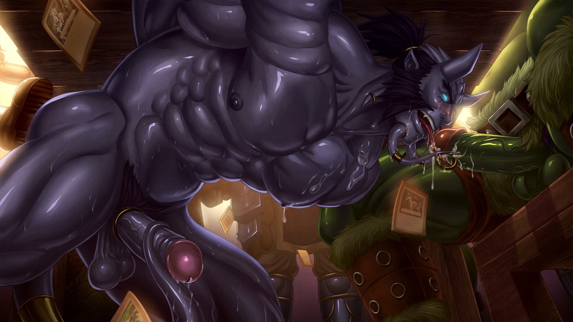 World of warcraft gay sucking worgen dick sexy galleries