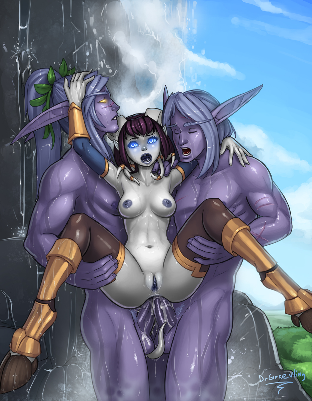 Animated wow draeneis having sex fucks pic