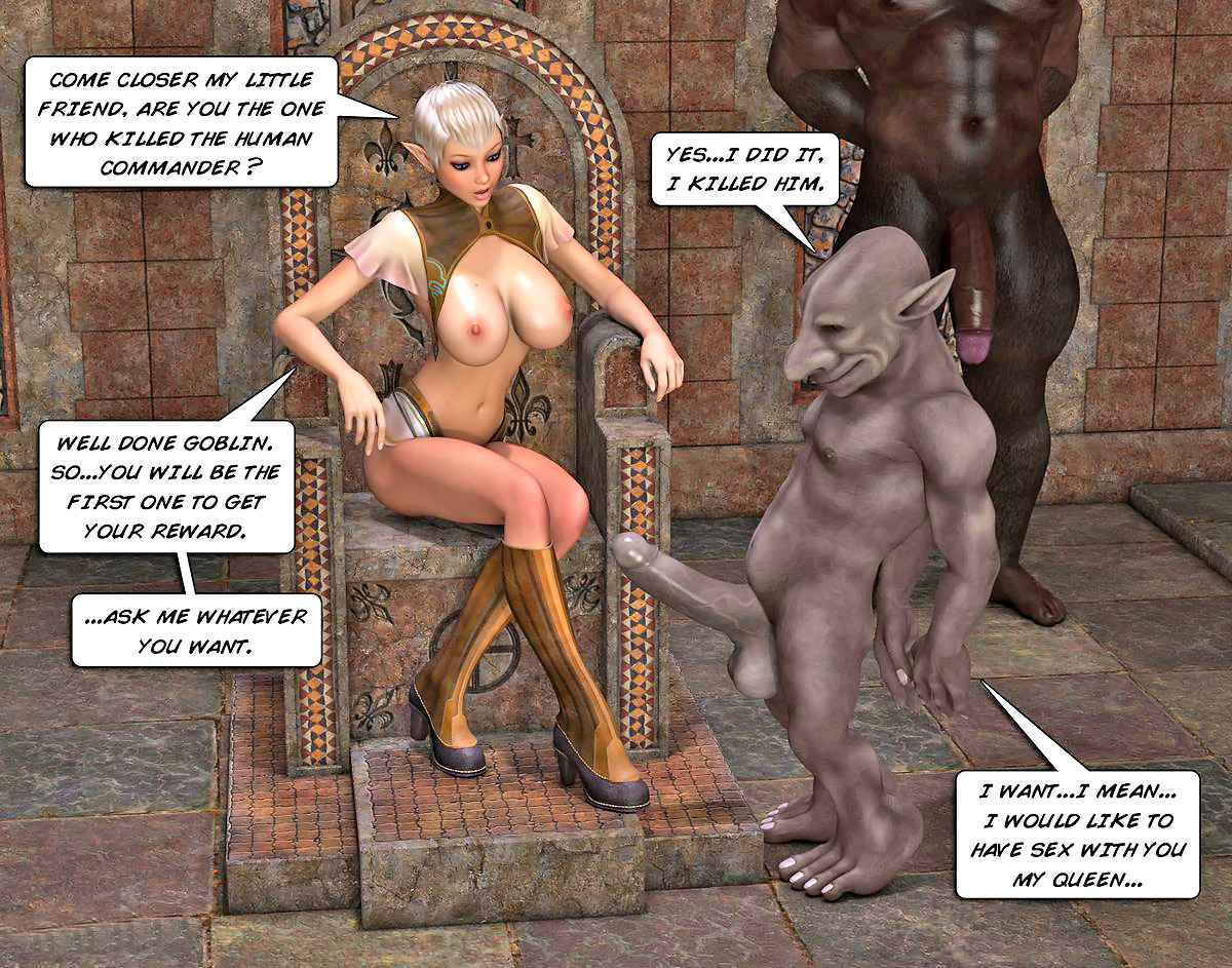 Elf chick fucked by orc nudes pics