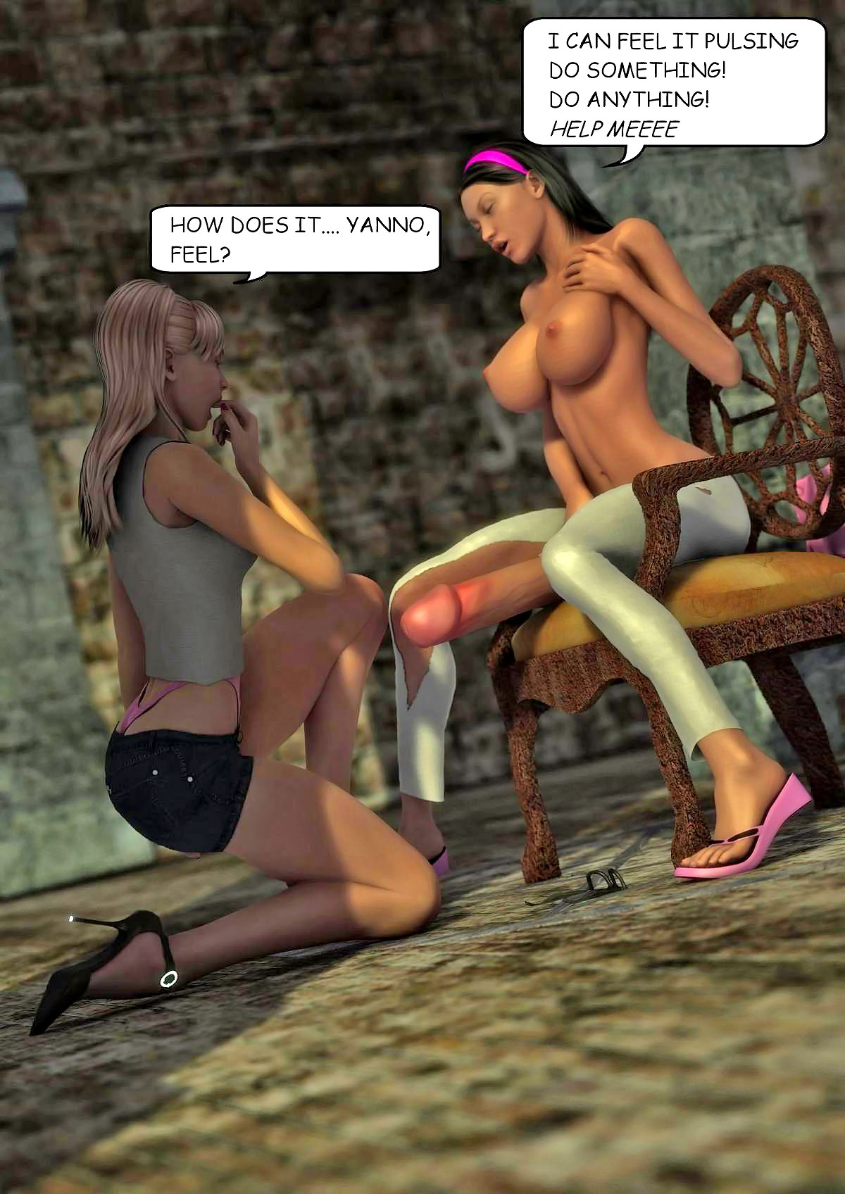 Hd cartoon fuck hentia films