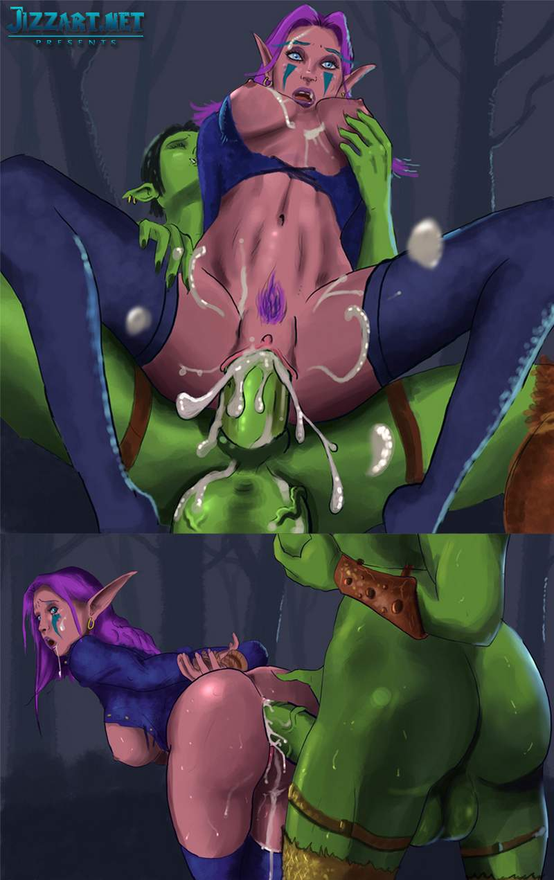 Nude sorceress warcraft anime lovers