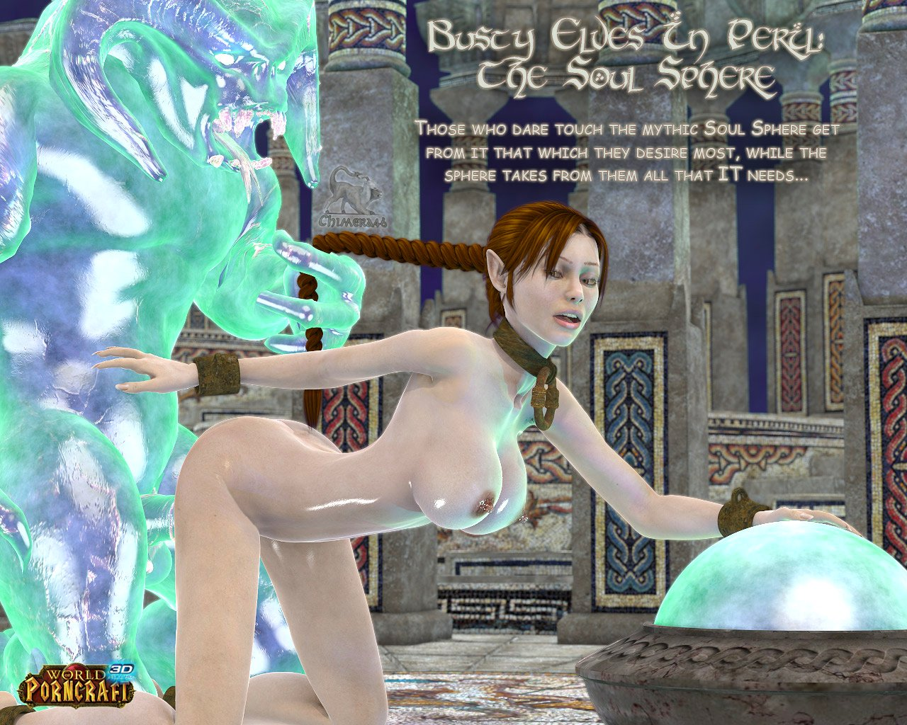 3d World of Warcraft porn cracked sex video