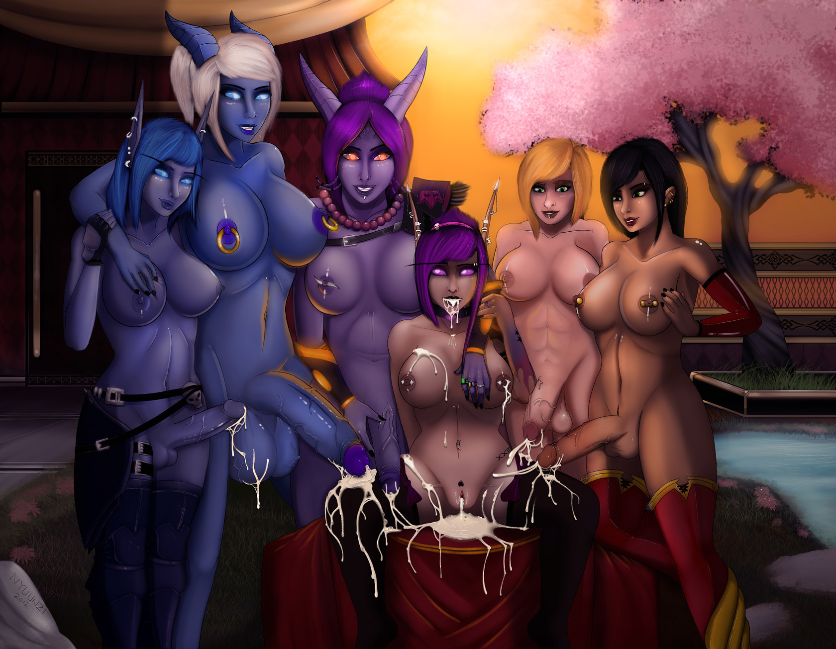 Free world of warcraft porn pic porn toons