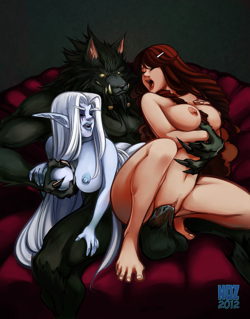 World of warcraft nightelf hentai porn exploited film