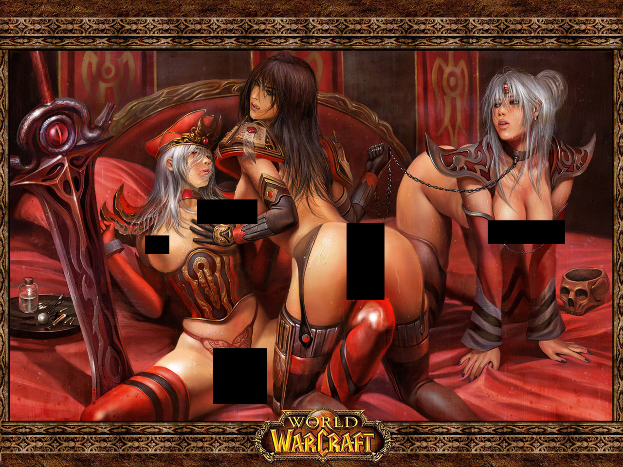 Warcraft naked players hentai picture