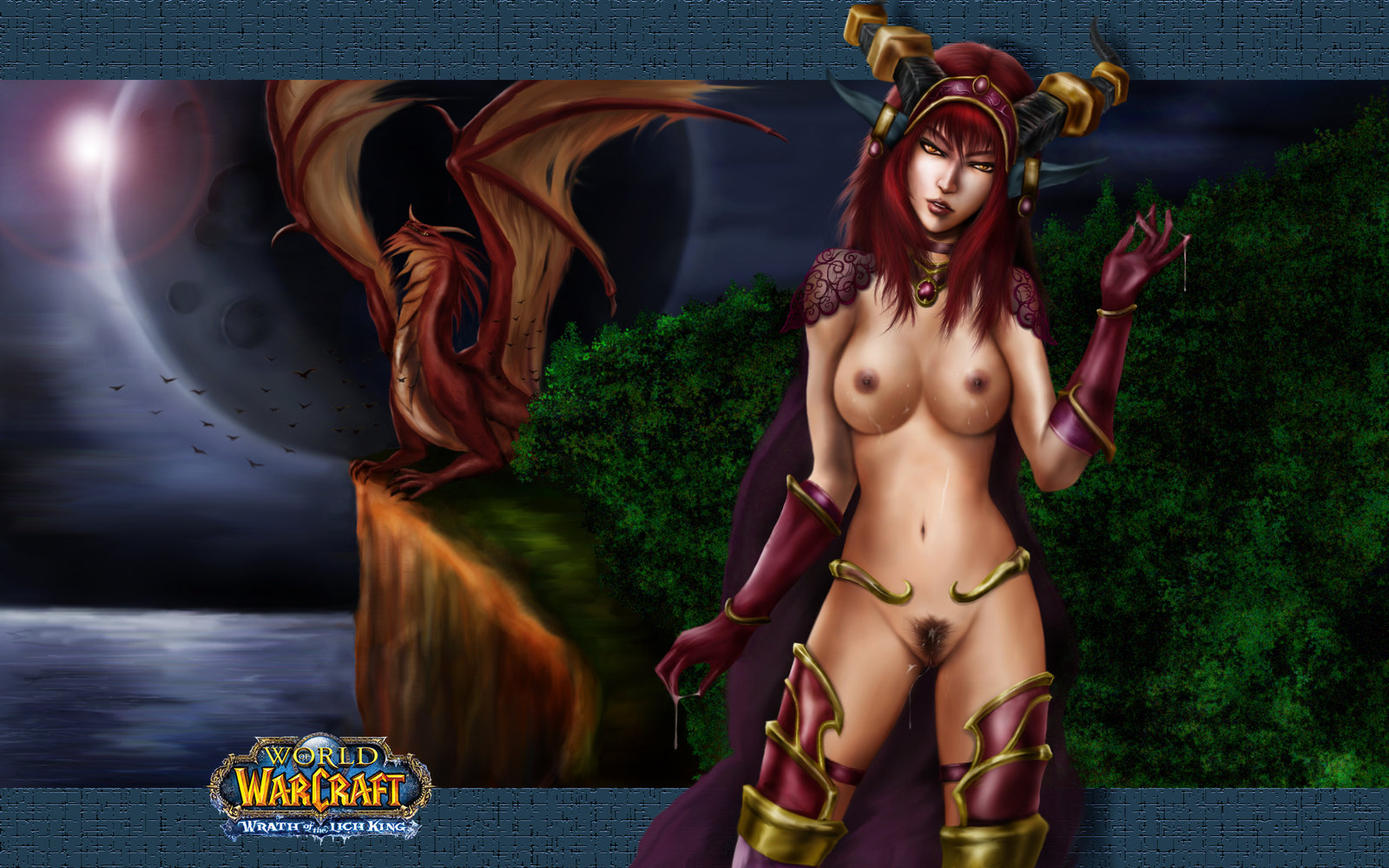 World of warcraft hentai alexstraza porn pics