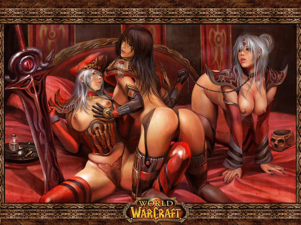 World of warcraft girls nude