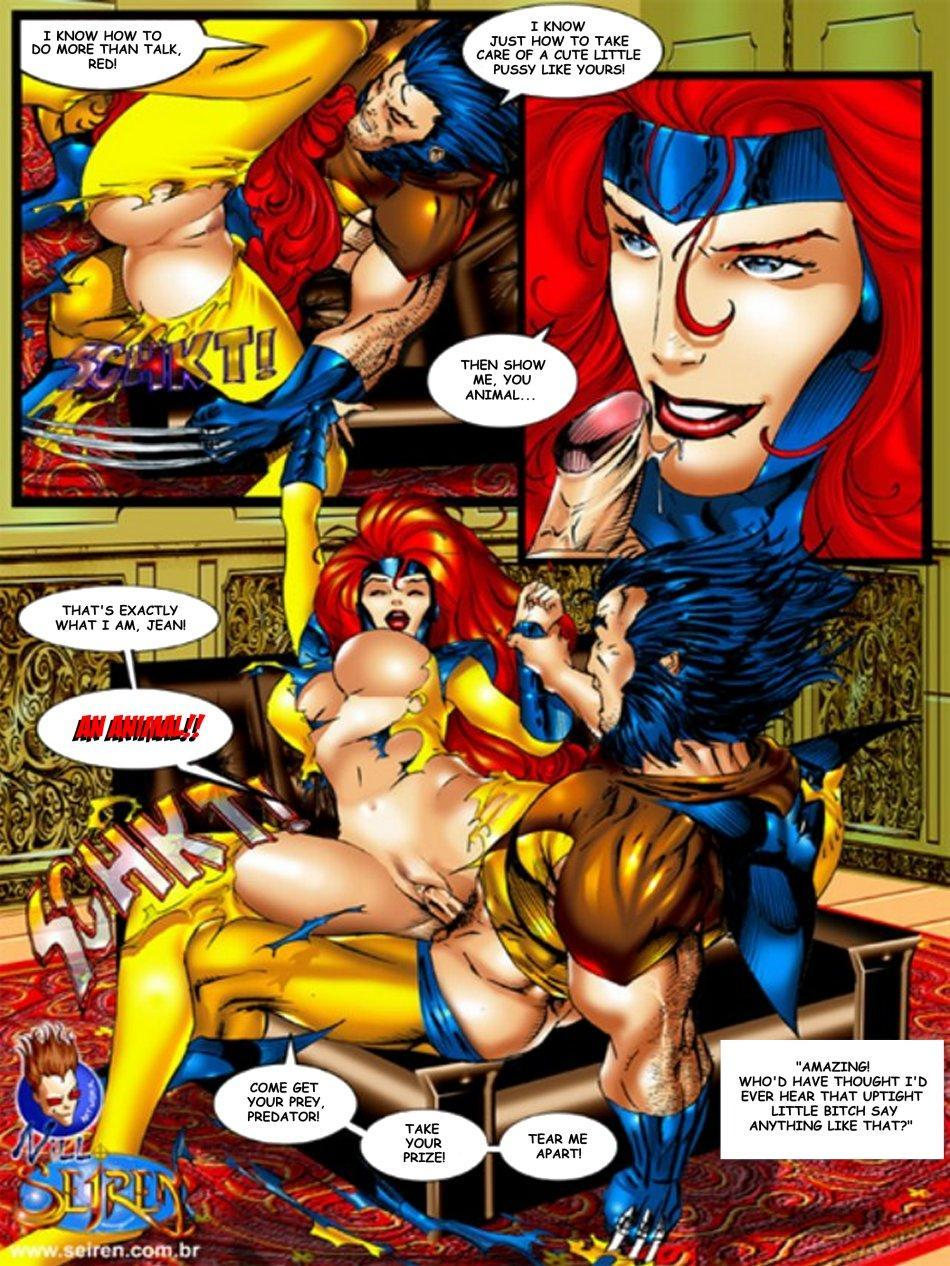The x men porn agree with