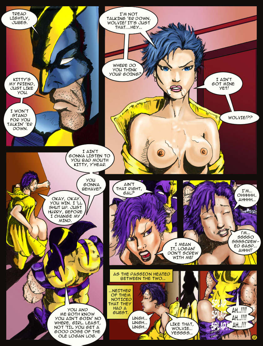 Naked women from x men think