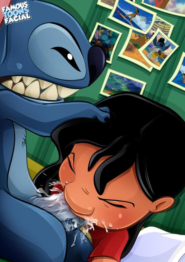 famous toons porn gallery porn media gallery toon toons lilo stitch famous shot face batothecyb