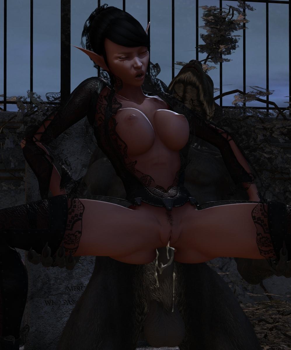 Hot dark elf xxx softcore toons