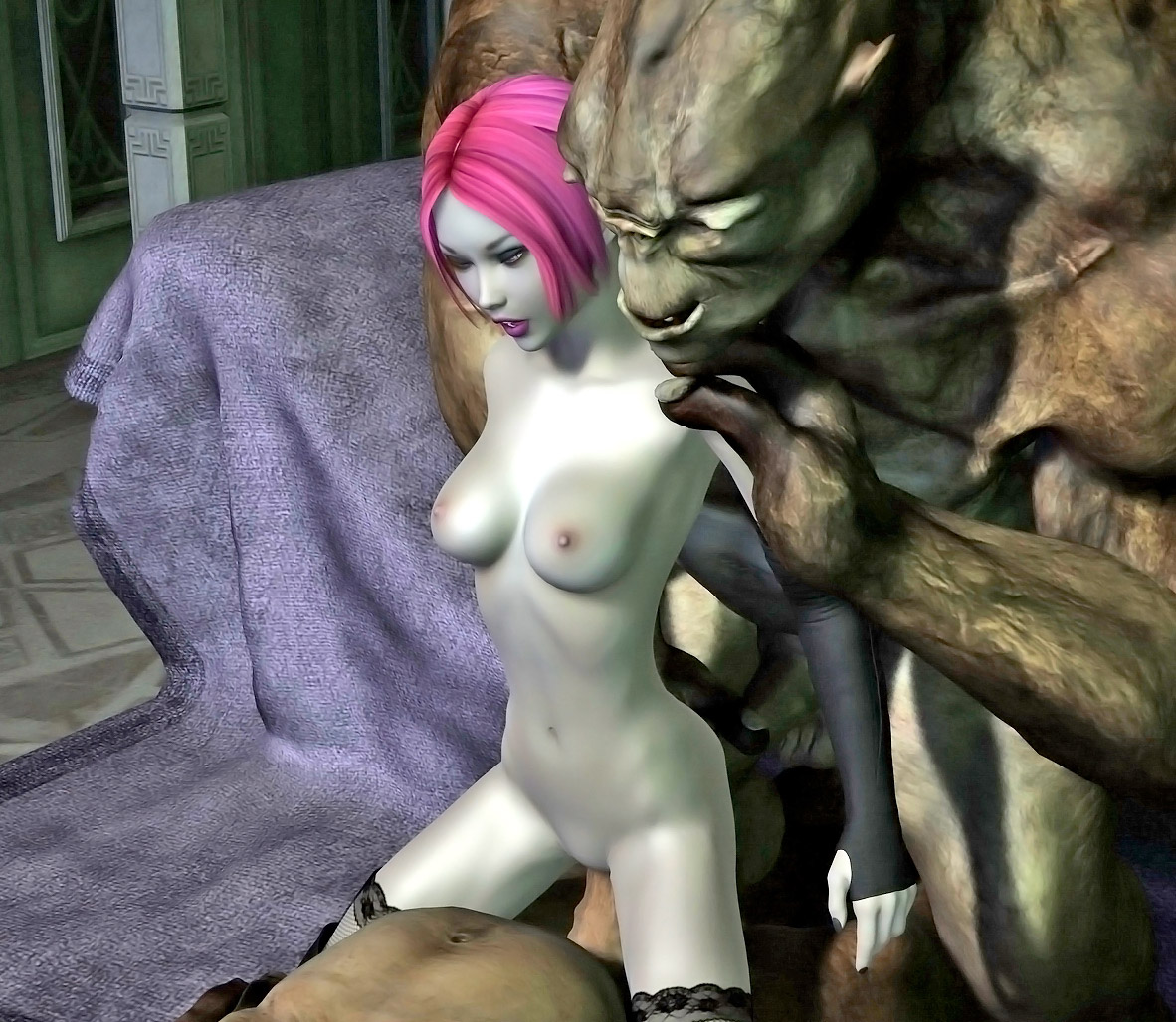 Hetai elve fucked by monsters cartoon download