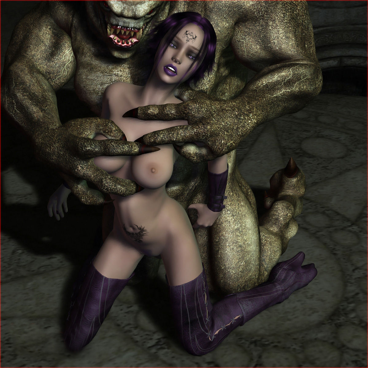 Elf raped to death by an ogre  xxx pictures