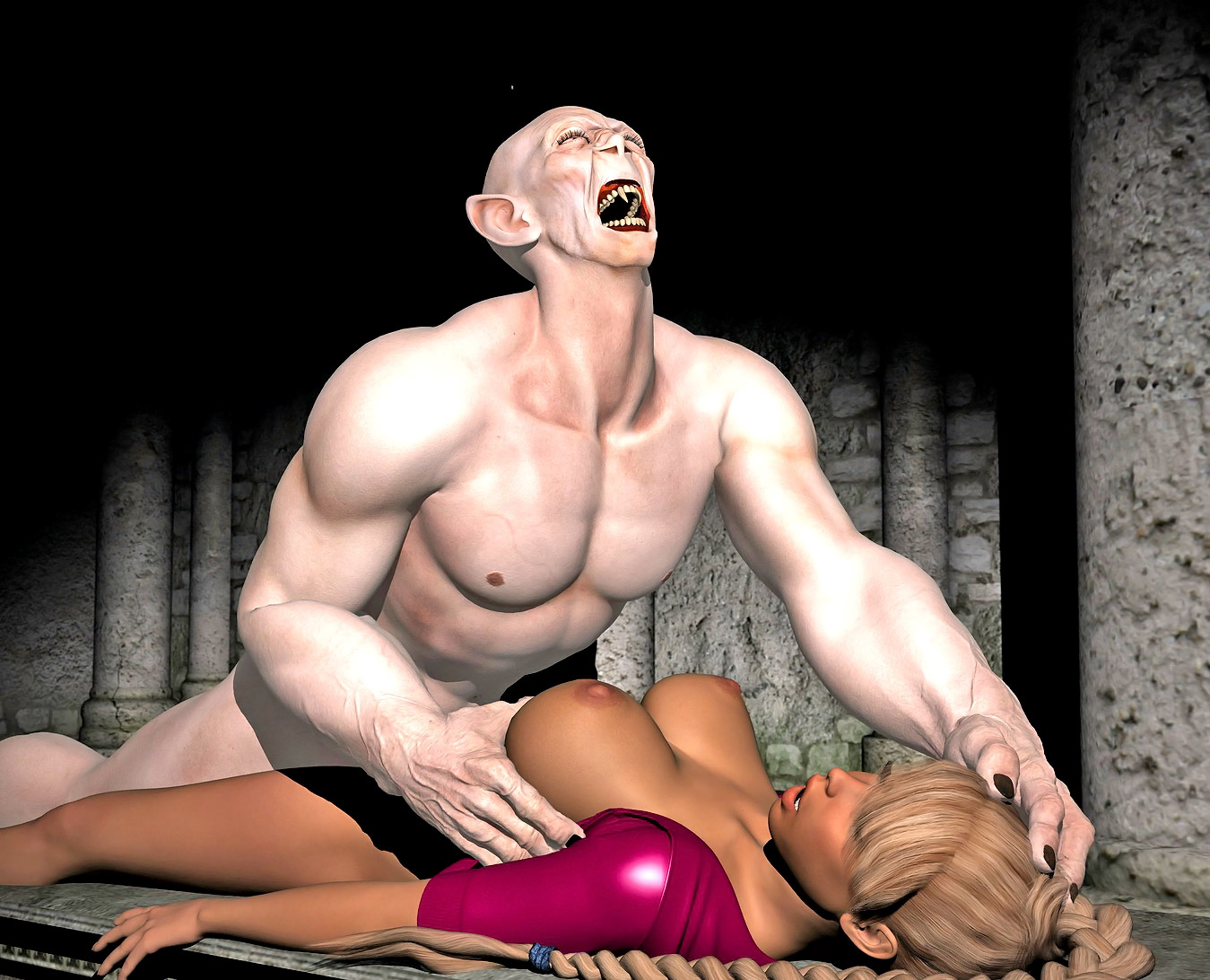 Demon woman porn pics hentai movies
