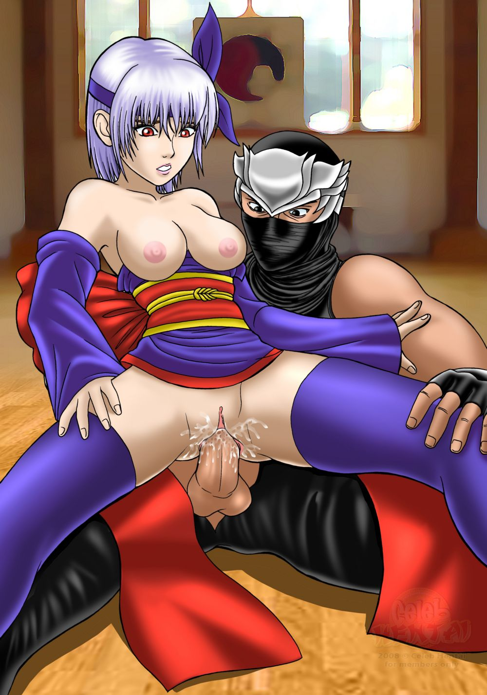 Hot ninja girl hentai pictures pron toons