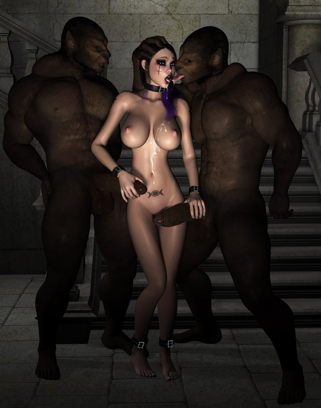 Porno slave monster naked images