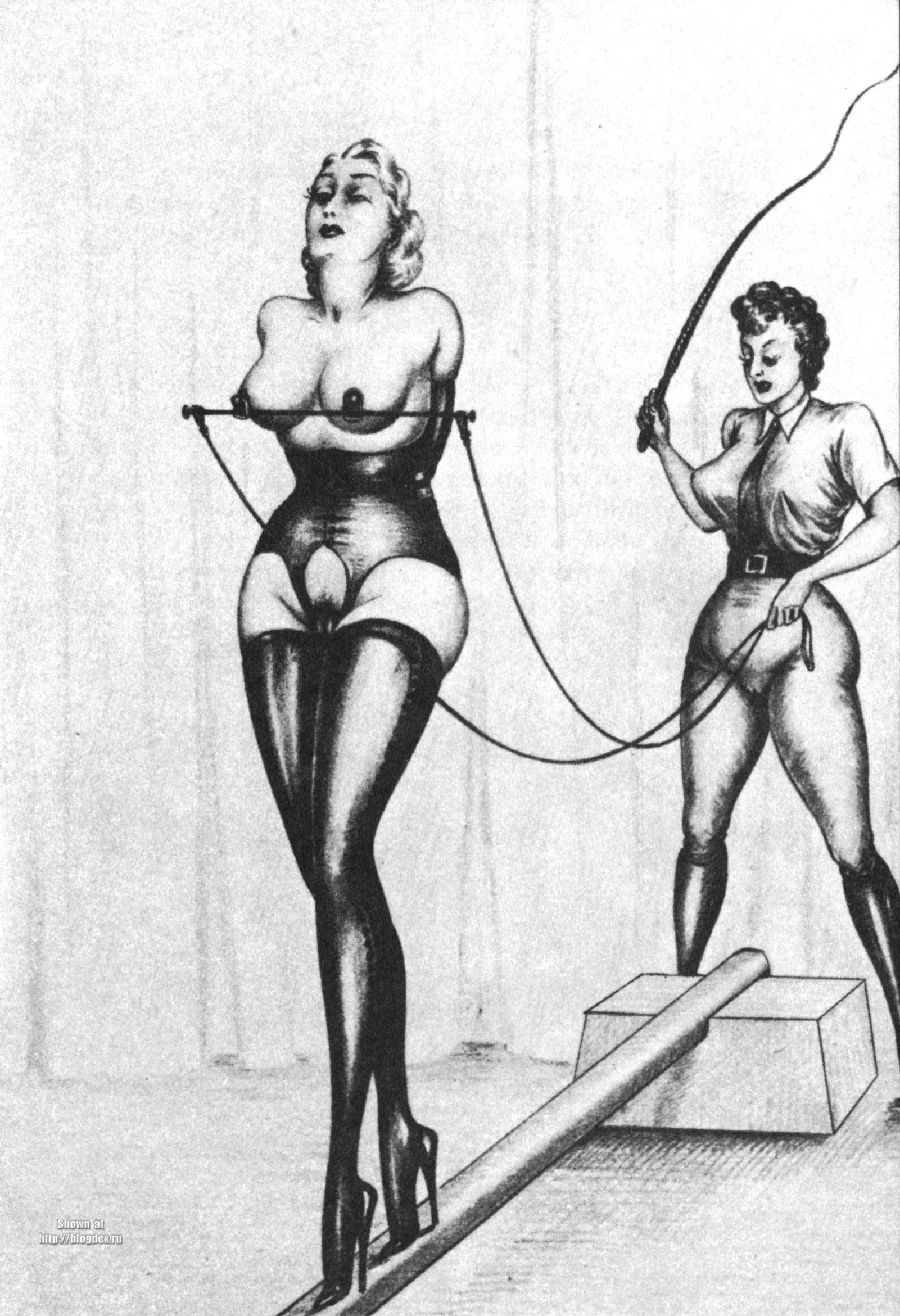 Erotic art cuckold