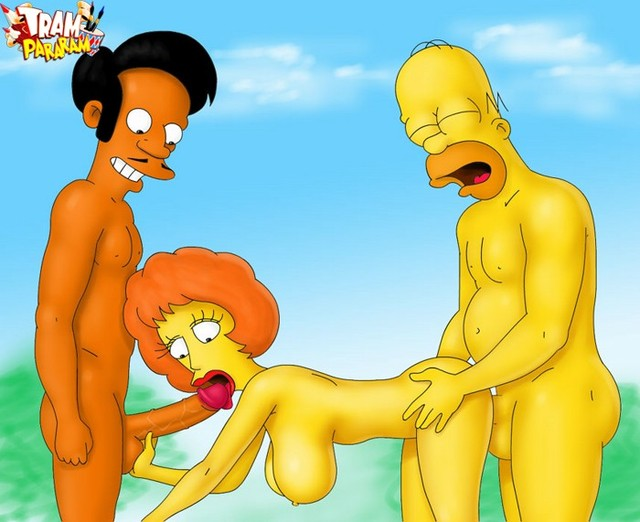 hot porn toons porn simpsons media toons from babes girls hot