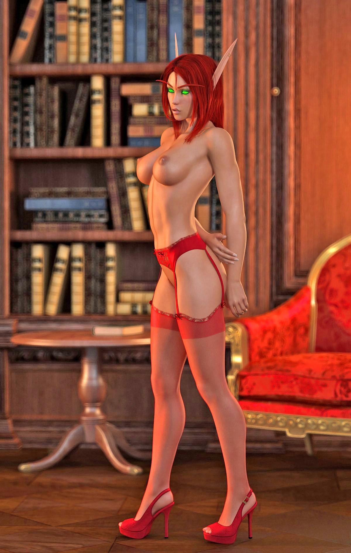 Hot fantasy toon cartoon photo
