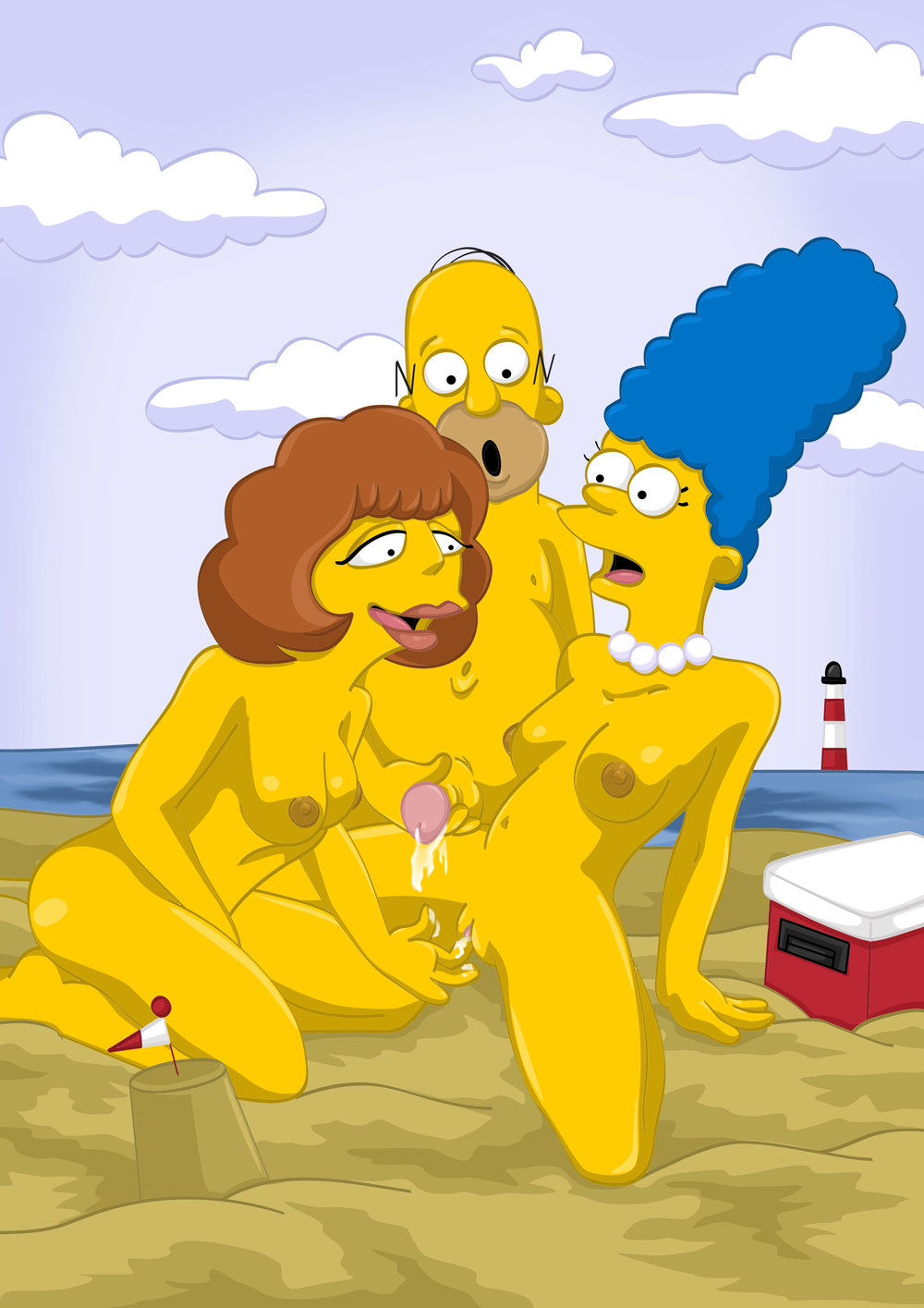 Sexy lisa toon porn nude video