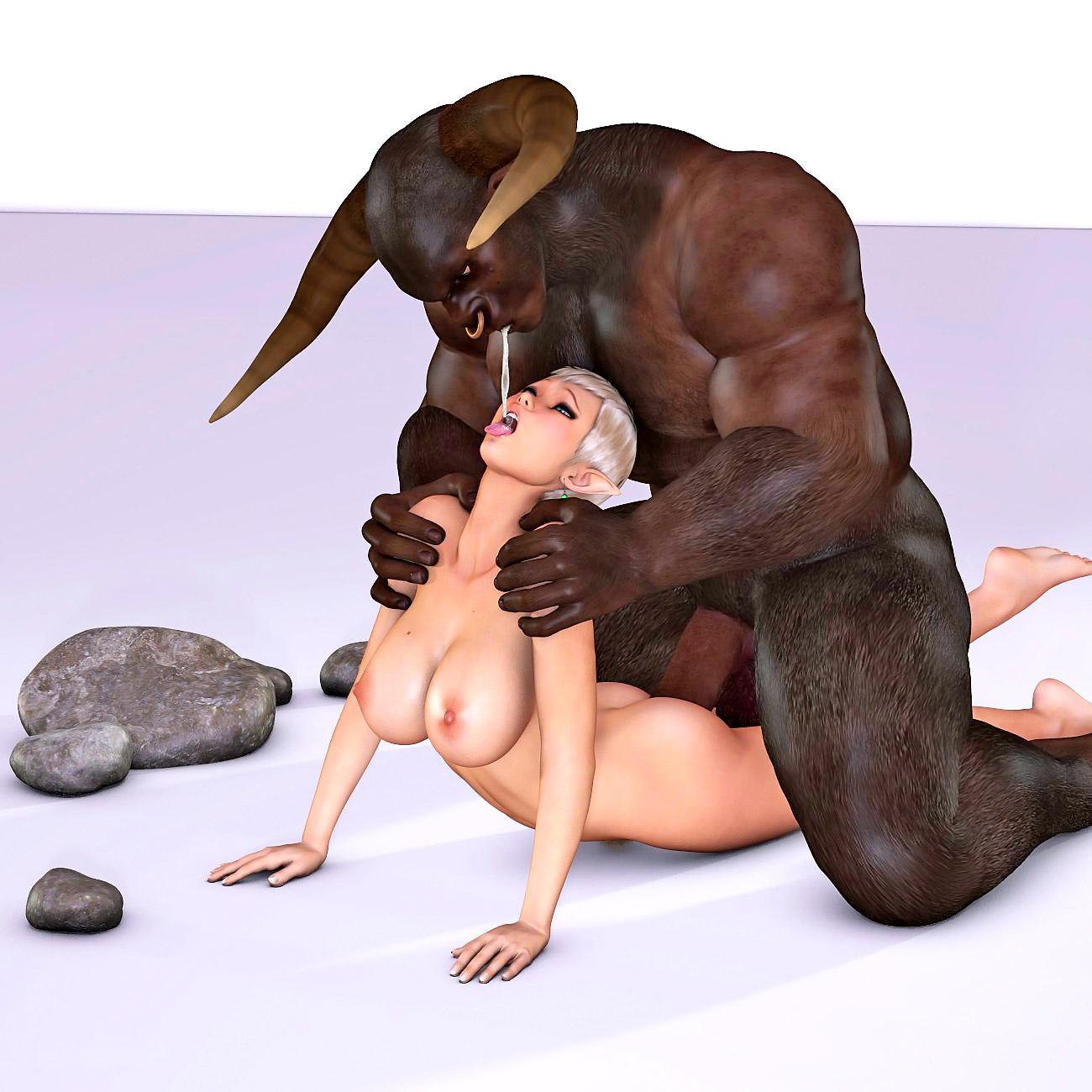 Секс с монстрами мультики 3 д 26 фотография