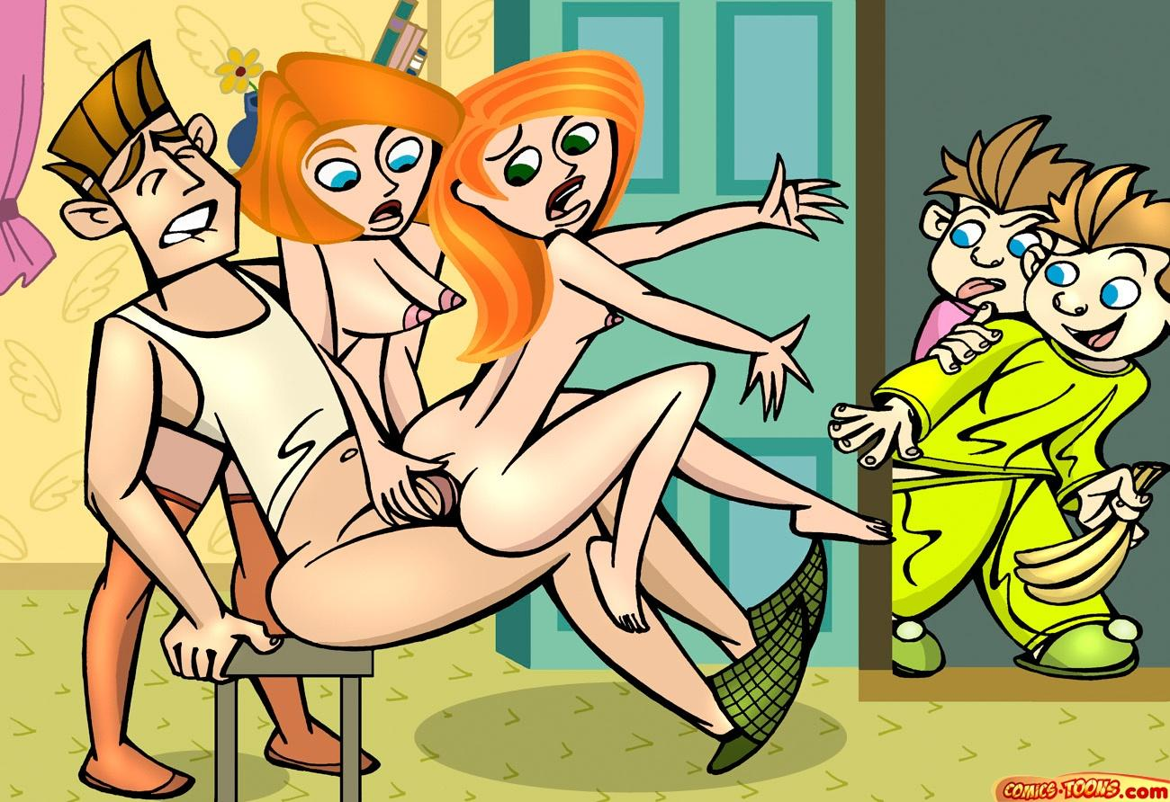 The real cartoons with nude scenes and  naked photos