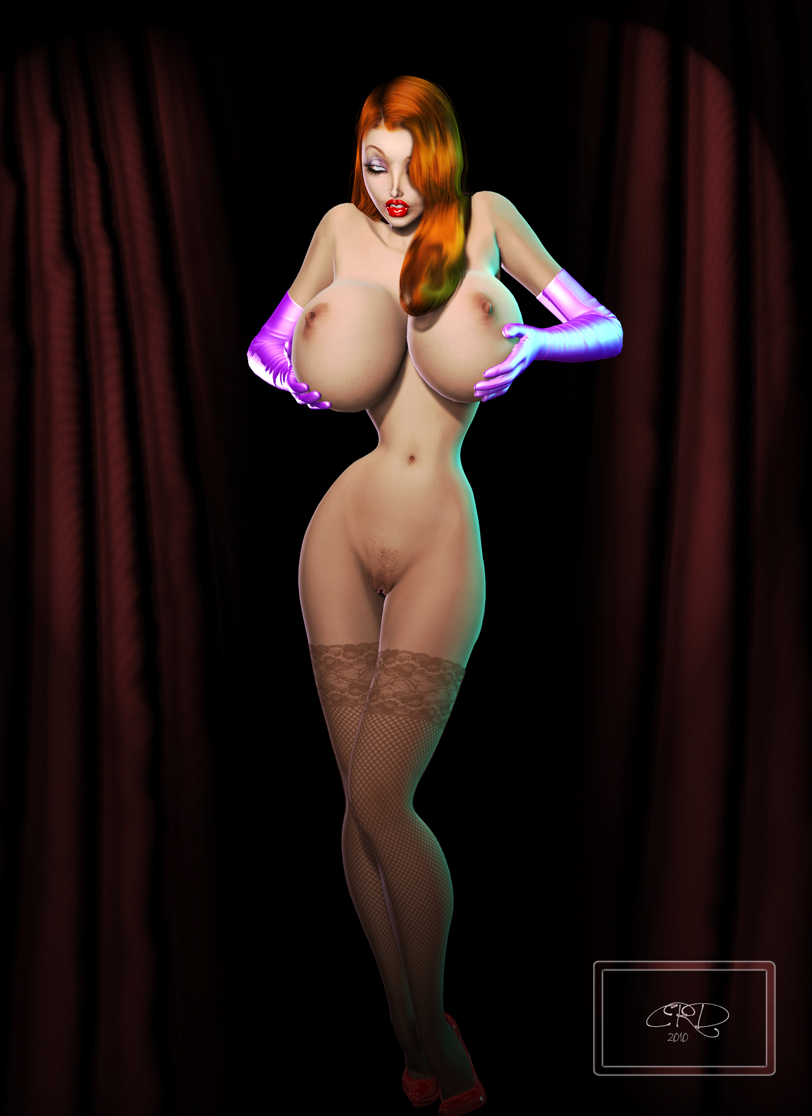 Idea and Pussy Jessica rabbit real